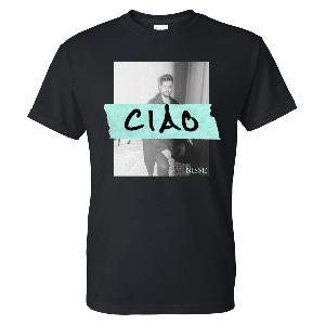 Nisse Ciao Mint T-Shirt Schwarz